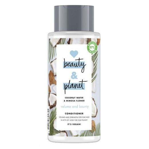 Love Beauty and Planet Coconut Water & Mimosa Flower Conditioner  (Kuplinošs kondicionieris mati