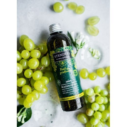 STENDERS Grape Massage Oil  (Vīnogu masāžas eļļa)