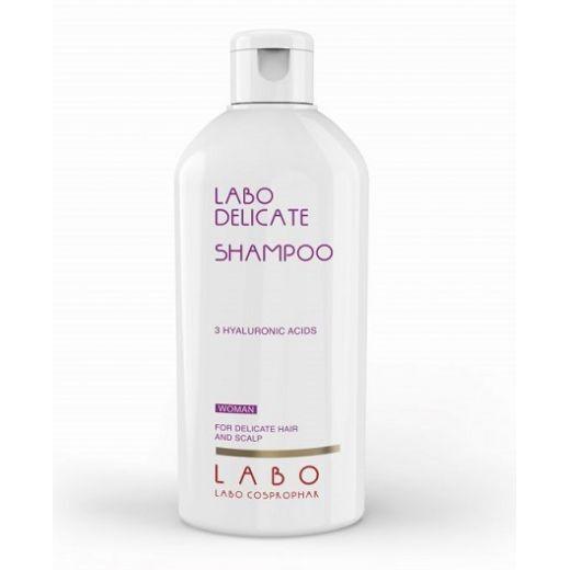 LABO Delicate Shampoo For Woman  (Šampūns jūtīgai galvas ādai sievietēm)