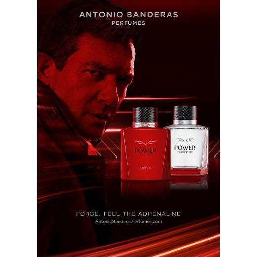 Antonio Banderas Power of Seduction Force  (Tualetes ūdens vīrietim)