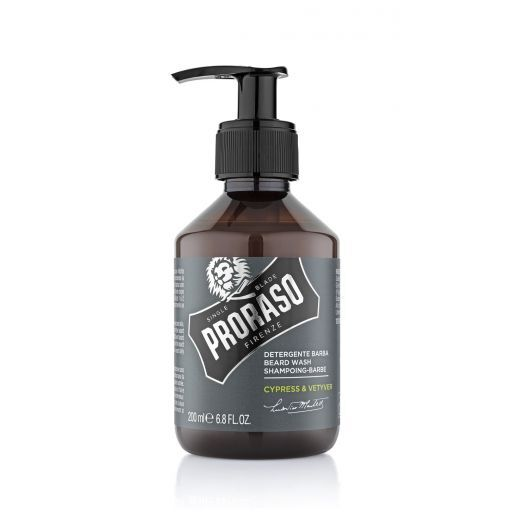 Proraso Beard Wash Vetyver   (Šampūns bārdai)