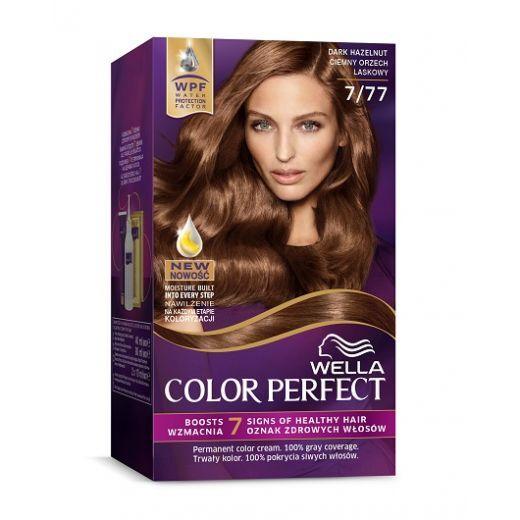 Wella Color Perfect 7/77 Dark Hazelnut  (Matu krāsa)