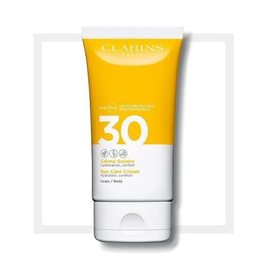 Clarins Sun Care Body Cream SPF 30  (Saules aizsargkrēms ķermenim SPF 30)