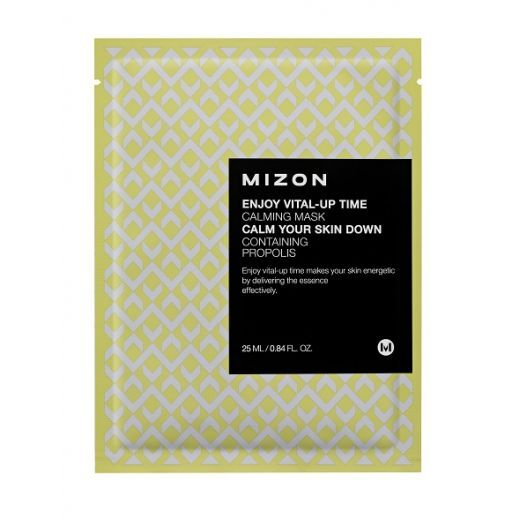 Mizon Enjoy Vital-Up Time Calming Mask  (Nomierinoša sejas maska)