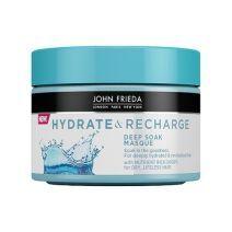 John Frieda Hydrate & Recharge Deep Soak Masque  (Maska sausiem matiem)
