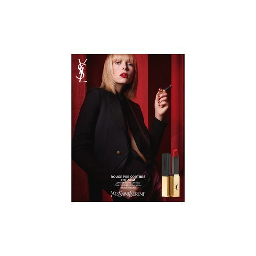 Yves Saint Laurent Rouge Pur Couture The Slim  (Matēta lūpu krāsa)