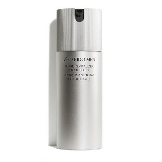Shiseido Men Total Revitalizer Light Fluid   (Revitalizējošs viegls fluīds sejai vīrietim)