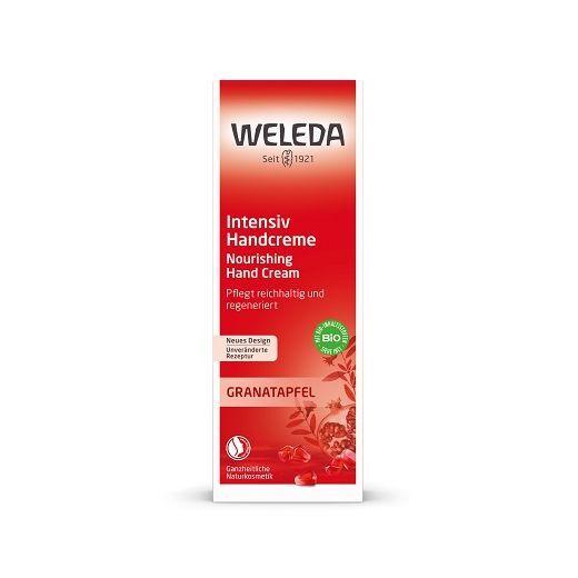 Weleda Pomegranate Regenerating Hand Cream  (Granātābolu atjaunojošs roku krēms)
