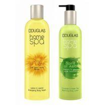 Douglas Home SPA Joy Of Light Body Wash + Spirit Of Asia Body Lotion  (Ķermeņa kopšanas komplekts)
