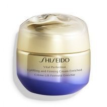 Shiseido Vital Perfection Uplifting and Firming Cream Enriched  (Bagātīgs ādu paceļošs un nostiprino