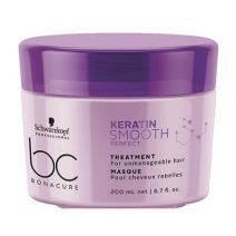 Schwarzkopf BC Bonacure Keratin Smooth Perfect Treatment Masque   (Maska matu nogludināšanai)