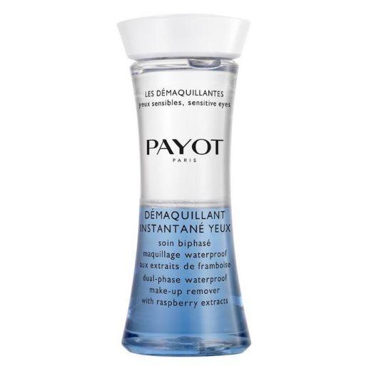Payot Les Démaquillant Instantane Yeux  (Divfāžu losjons dekoratīvās kosmētikas noņemšanai)