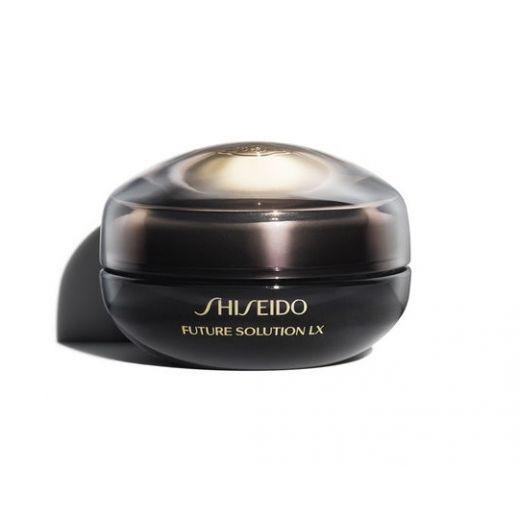 Shiseido Future Solution LX Eye and Lip Contour Regenerating Cream  (Reģenerējošs krēms acu un lūpu
