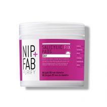 NIP+FAB Salicylic Fix Day Pads  (Attīrošās plāksnītes ar salicilskābi)