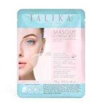 Talika Pink Clay Sheet Mask  (Maska sejas ādas uzlabošanai)