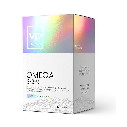 VPlab Omega 3-6-9  (Uztura bagātinātājs)