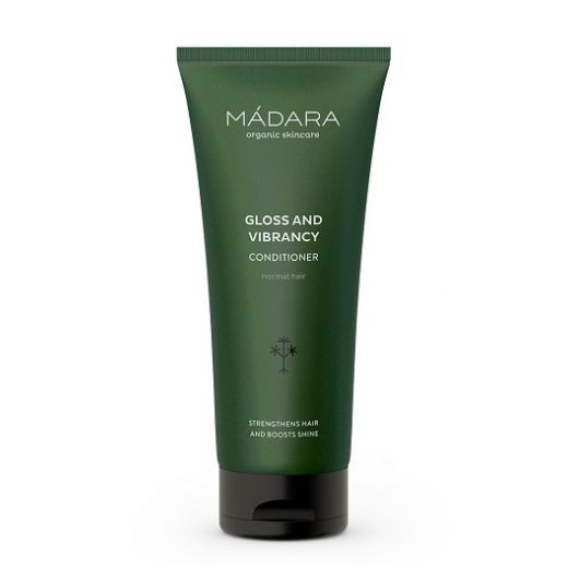 MADARA Gloss and Vibrancy Conditioner   (Mirdzumu veicinošs matu balzāms)