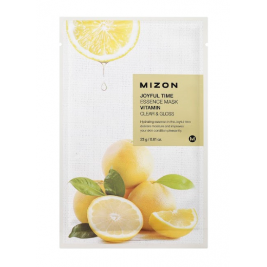 Mizon Joyful Time Essence Mask Vitamin   (Sejas maska ar C vitamīnu)
