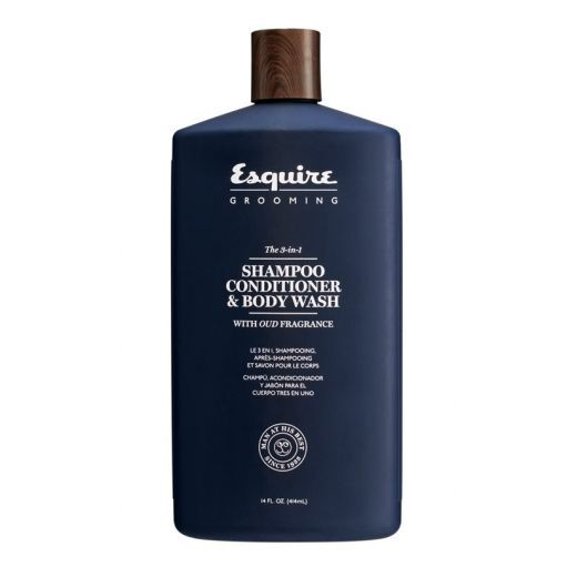 Esquire The 3in1 Shampoo Conditioner & Body Wash  (Matu un ķermeņa šampūns vīrietim)