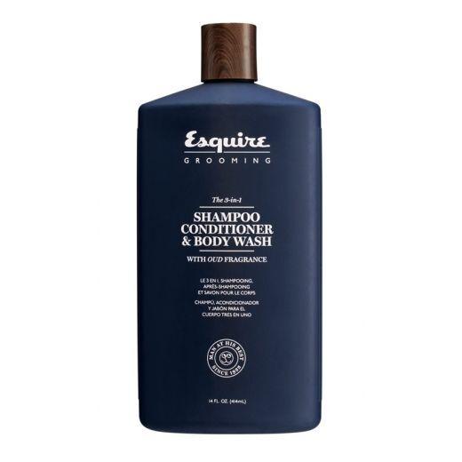 Esquire The 3in1 Shampoo Conditioner & Body Wash  (Matu un ķermeņa šampūns vīrietim)