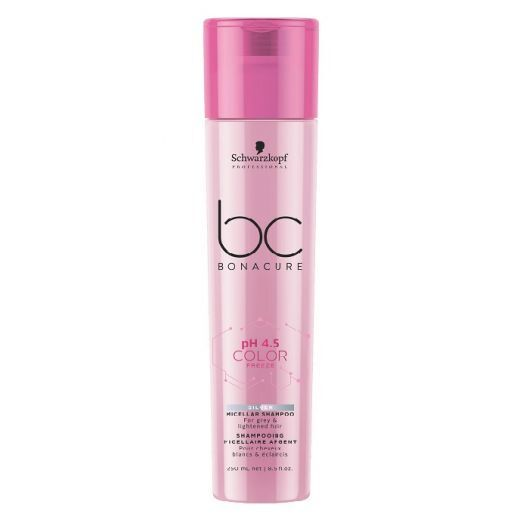 Schwarzkopf BC Bonacure pH 4.5 Color Freeze Silver Micellar Shampoo  (Sudraba micelārais šampūns krā