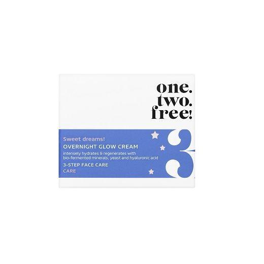 ONE.TWO.FREE! Overnight Glow Cream  (Nakts sejas krēms)