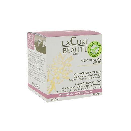 La Cure Beauté Night Infusion Cream  (Nakts sejas krēms)