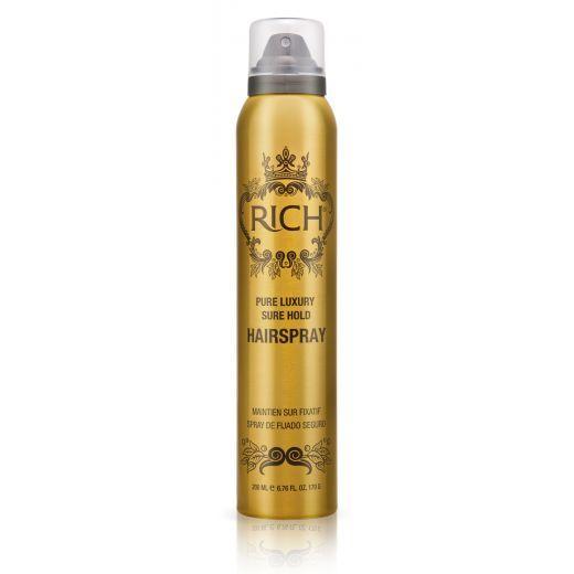 Rich Pure Luxury Sure Hold Hair Spray  (Matu laka elastīgai fiksācijai)