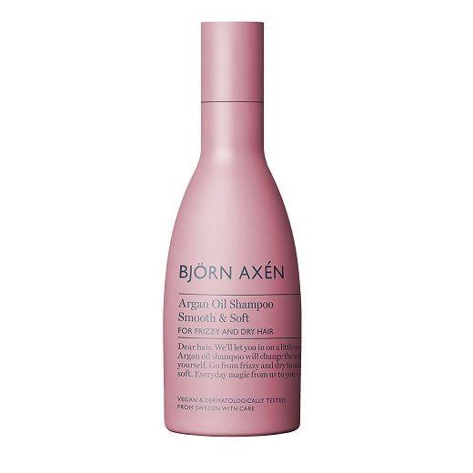 BJORN AXEN Argan Oil Shampoo  (Mitrinošs šampūns cirtainiem, sausiem un blāviem matiem)