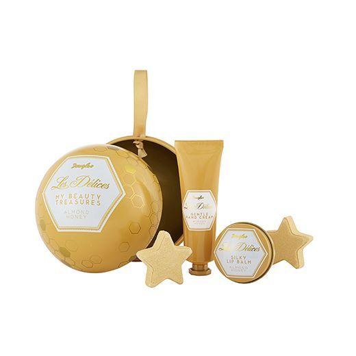 Douglas Les Délices Almond Honey My Beauty Treasures  (Komplekts roku un lūpu kopšanai)