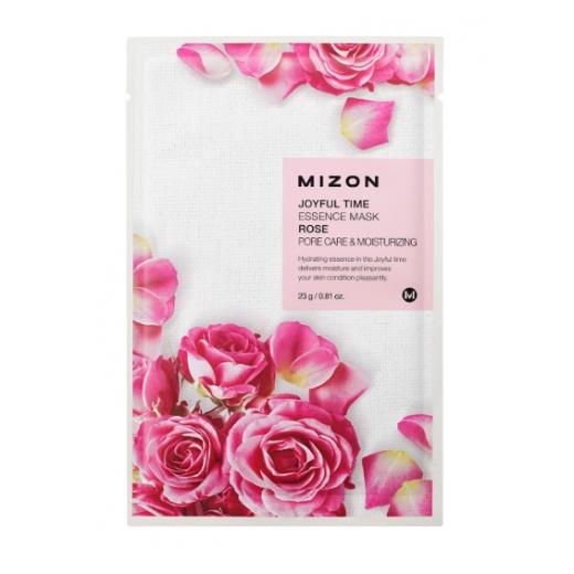 Mizon Joyful Time Essence Mask Rose   (Sejas maksa ar rozes ekstraktu)