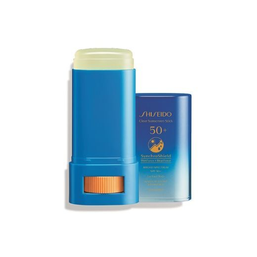 Shiseido Suncare Clear Protection Stick SPF 50+  (Caurspīdīgs zīmuļveida aizsarglīdzeklis SPF 50+)