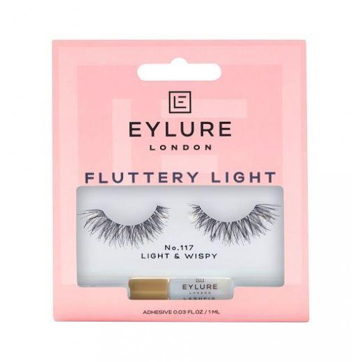 Eylure Fluttery Light 117   (Mākslīgās skropstas)