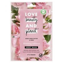 Love Beauty and Planet Muru Muru Butter & Rose Face Sheet Mask   (Barojoša sejas maska)