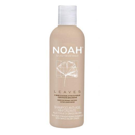 NOAH Anti Aging Strengthening Shampoo With Ginkgo Biloba Leaves  (Atjaunojošs un nostiprinošs šampūn