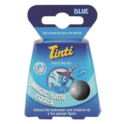 Tinti Magic Bath Fizzer Blue  (Vannas bumba)