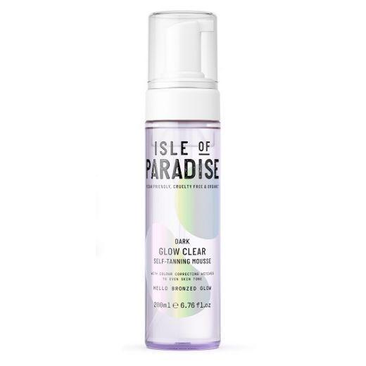 Isle of Paradise Dark Glow Clear Self Tanning Mousse   (Paštonējošās putas)