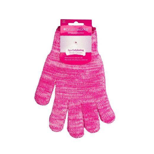 BrushWorks SPA Exfoliant Body Gloves  (Eksfoliējošie cimdi)