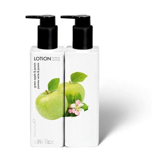 Kinetics Green Apple & Jasmin Lotion  (Roku un ķermeņa losjons)