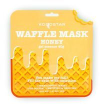Kocostar Waffle Mask Honey  (Mitrinoša un barojoša sejas maska)