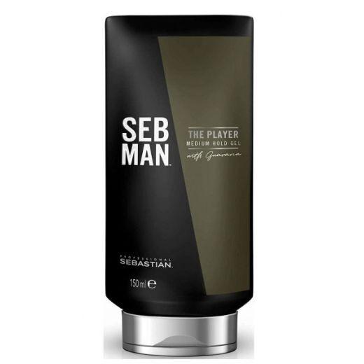 Sebastian Professional Seb Man The Player Medium Hold Gel  (Vidējas fiksācijas matu želeja)