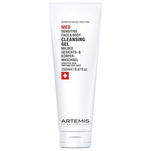 ARTEMIS MED Face + Body Cleansing Gel (Sejas un ķermeņa attīrošā želeja jutīgai ādai)