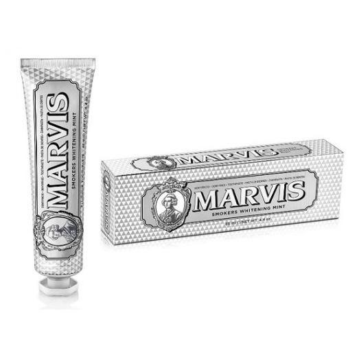 Marvis Smokers Whitening Mint (Balinoša zobu pasta smēķētājiem)