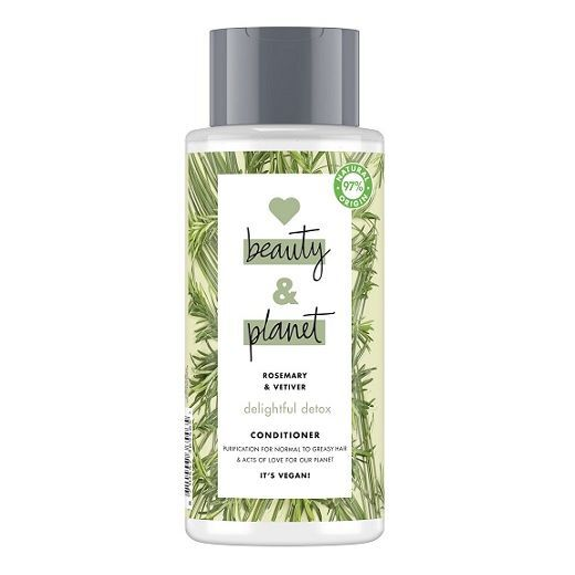 Love Beauty and Planet Rosemary & Vetiver Conditioner   (Dziļi attīrošs kondicionieris matiem)