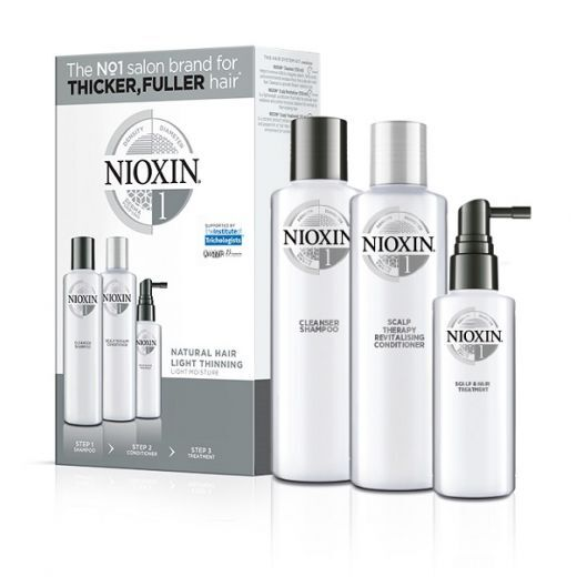 NIOXIN Trialkit System Nr.1  (Matu kopšanas komplekts)