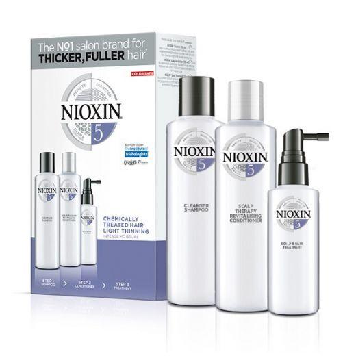 NIOXIN Trialkit System Nr.5  (Matu kopšanas komplekts)