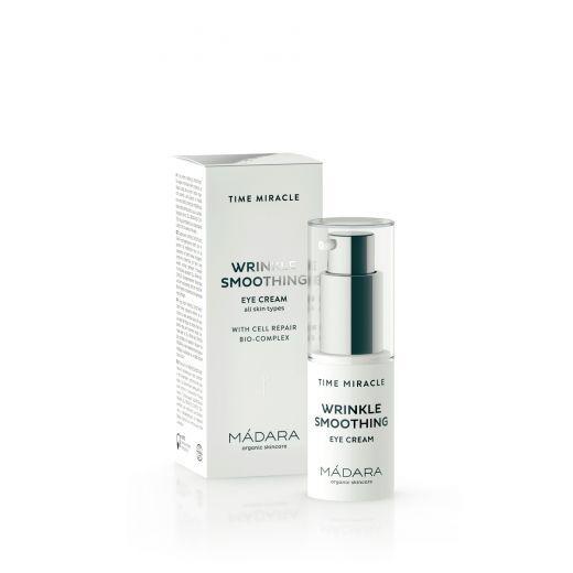 MÁDARA TIME MIRACLE  Wrinkle Smoothing Eye Cream  (Acu krēms)