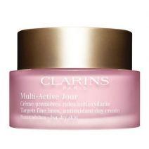 Clarins Multi - Active Jour Cream Dry Skin (Sejas krēms pret pirmajām novecošanas pazīmēm sausai āda