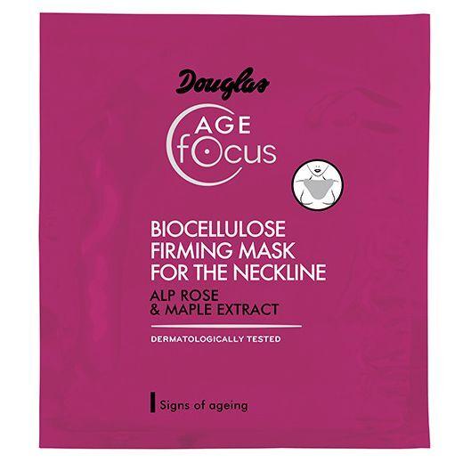 Douglas Focus Age Biocellulose Firming Mask For The Neckline 10 ml  (Biocelulozes nostiprinoša maska
