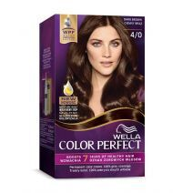 Wella Color Perfect 4/0 Dark Brown  (Matu krāsa)